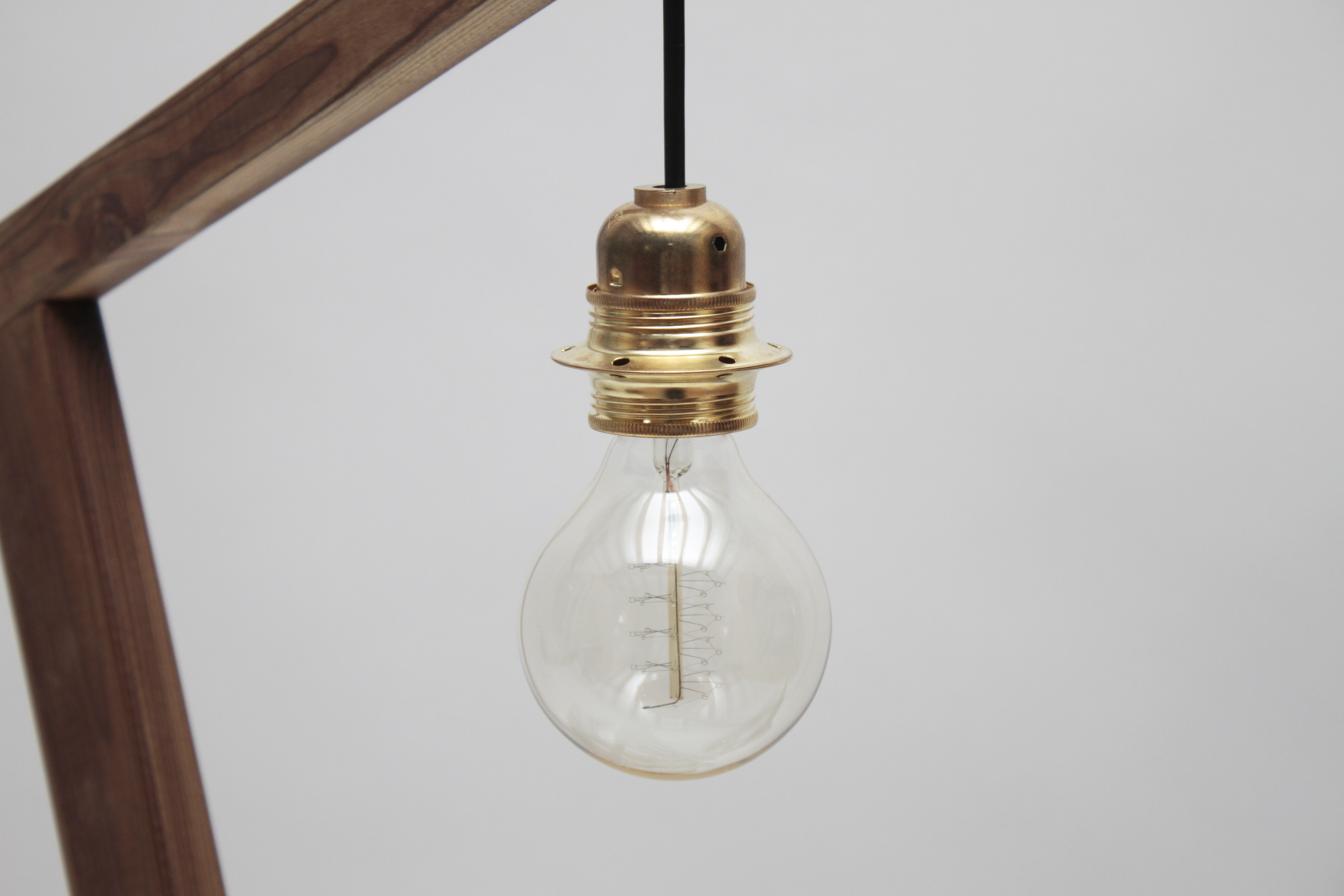 woodaucarre - lampe loft