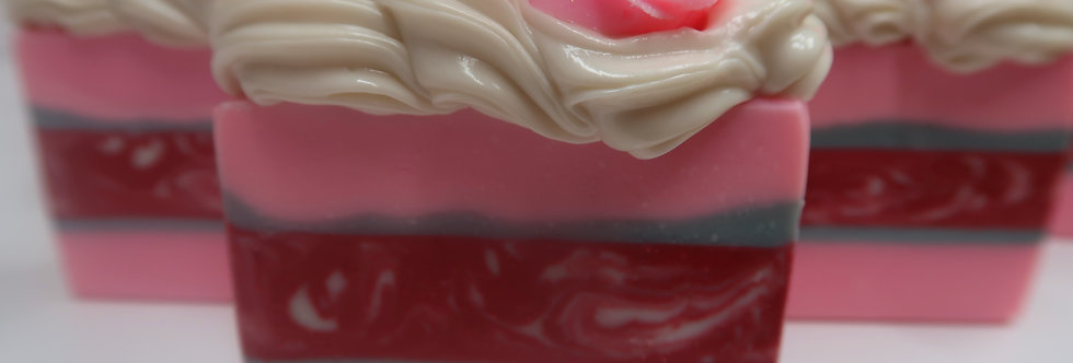 Arctic White Rose Creme Silk Soap