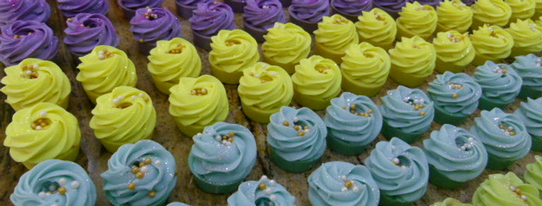 Wholesale 60 x Mixed Mini Cupcake Soaps