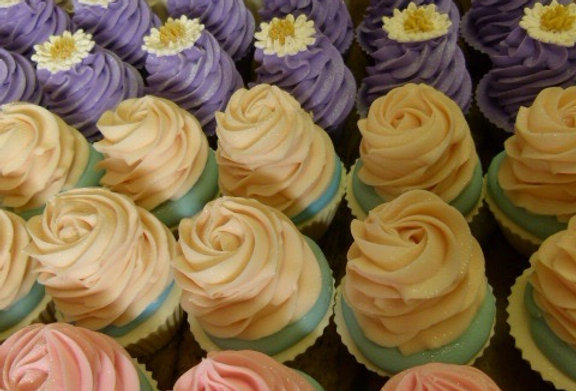Wholesale 36 x Mixed Large Cupcake Soaps