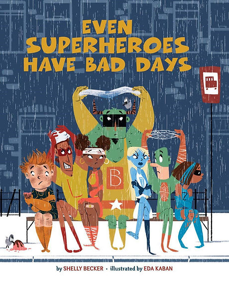Even Superheroes Have Bad Days Cover PDF