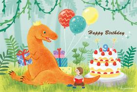 秘密の誕生日パーティー