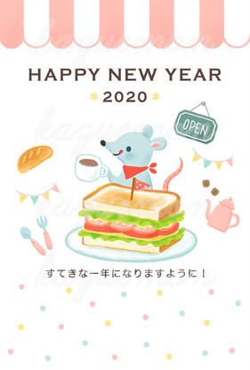 年賀状素材(角川アスキー総合研究所)