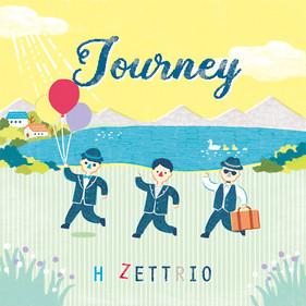 H ZETTRIO 「Journey」ジャケットイラスト