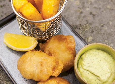 "Award-Winning British Chef Justin Brown Opens ""The Chippy"" at Balan's"