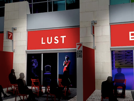 Live Theatrical Event in Seven Storefronts Along Miami Beach's Historical Lincoln Road