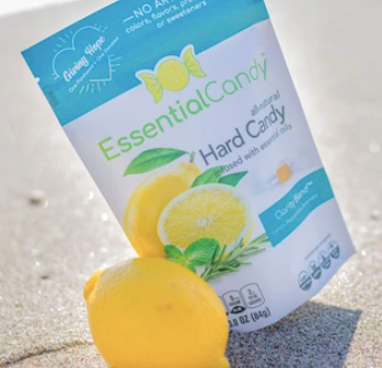 Essential Candy Redefines Hard Candy with All-Natural Healthy Blends, Infused with Essential Oils