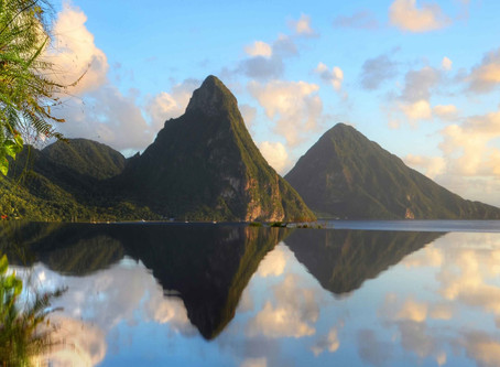 Saint Lucia: A Dreamworld of Rainforests, Volcanoes, Waterfalls, and the Caribbean Coast