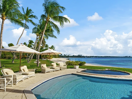 Magnificent Lyford Cay Beachfront Estate in the Bahamas