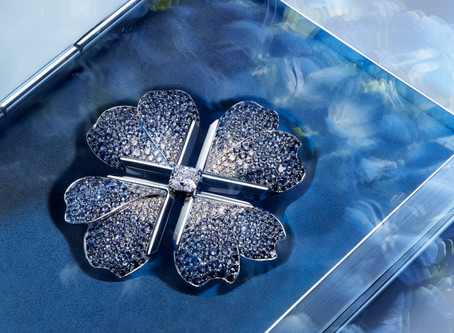 Tiffany & Co.'s Blue Book Collection Magnifies Nature Through Art