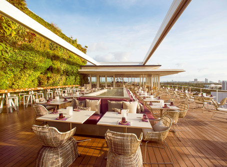 Juvia: Tri-Fusion Cuisine with Unparalleled Panoramic Views