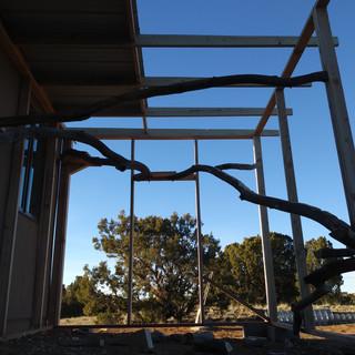 Eldorado catio under construction