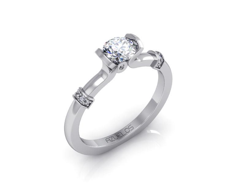 Diamond Engagement Ring AZ045