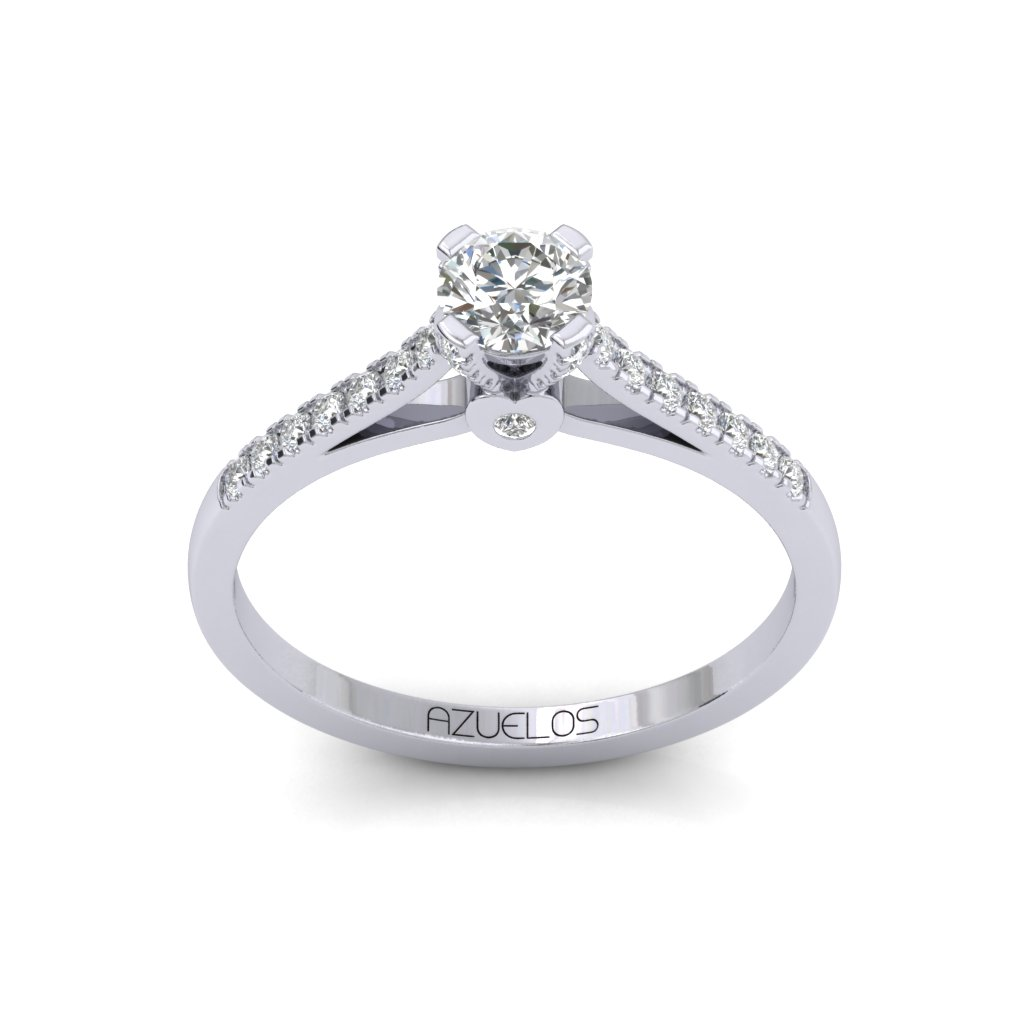 Diamond Engagement Ring AZ074