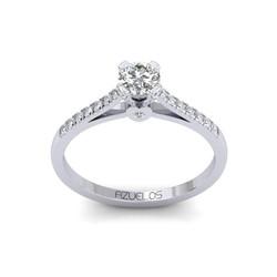 Diamond Engagement Ring AZ074