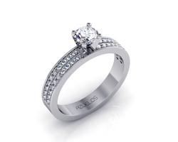 Diamond Engagement Ring AZ009