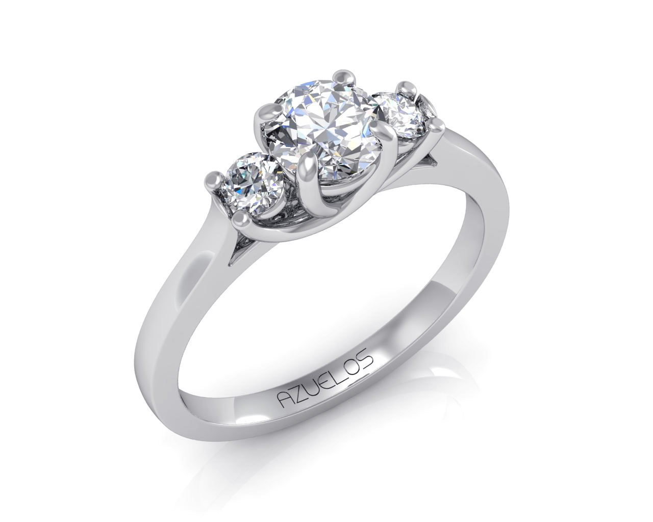 Diamond Engagement Ring AZ014