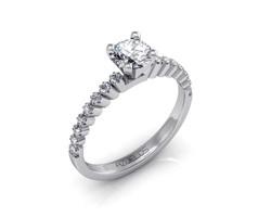 Diamond Engagement Ring AZ010