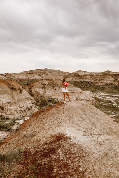 Visiting Dinosaur Provincial Park Near Patricia, Alberta
