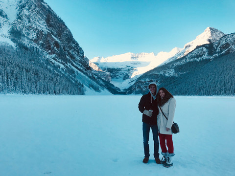 Visiting Banff, Alberta (Winter)