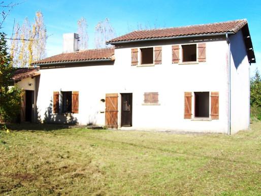 A VENDRE Maison de campagne Mauprévoir - 3  chambres et 1660m² de jardin