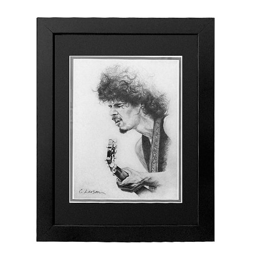 'Carlos' Framed Original Pencil Drawing