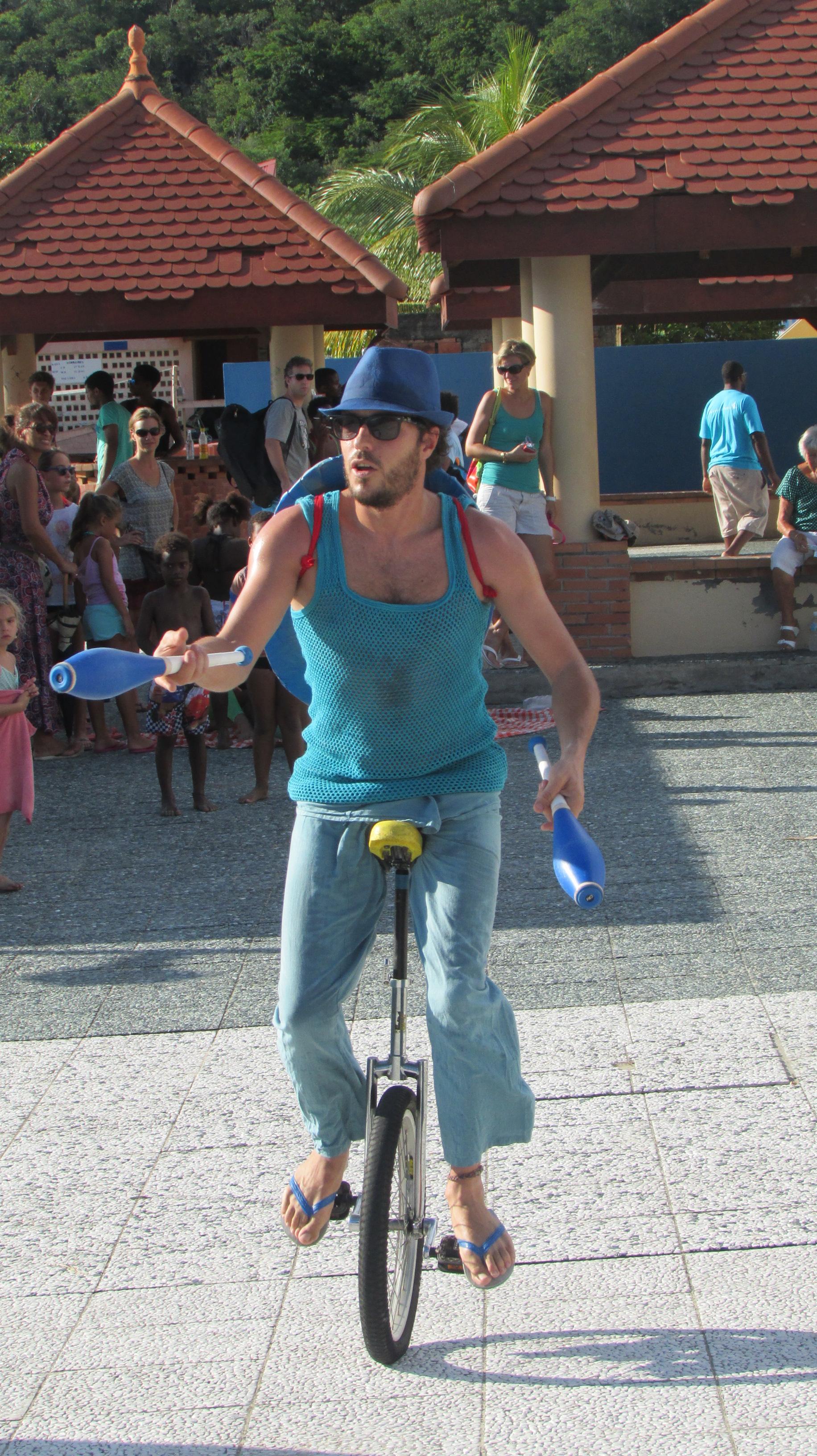 Lezard Ti Show - monocycleurs