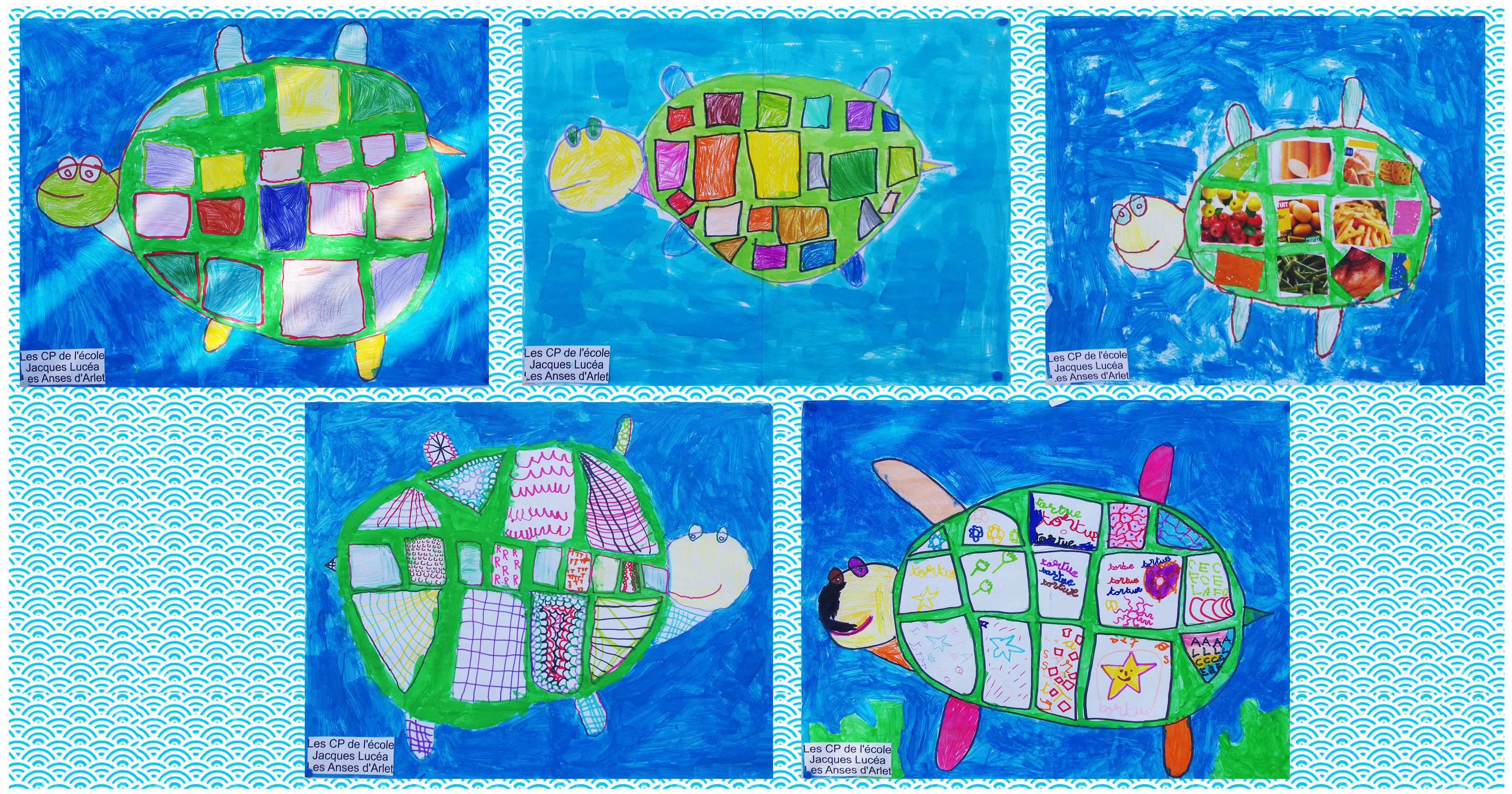 Dessins tortues des CP