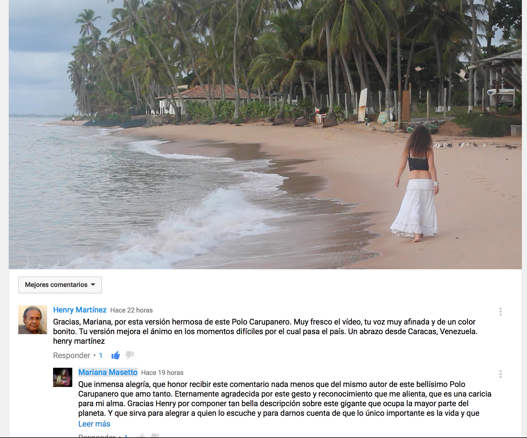 Comentario de Henry Martínez