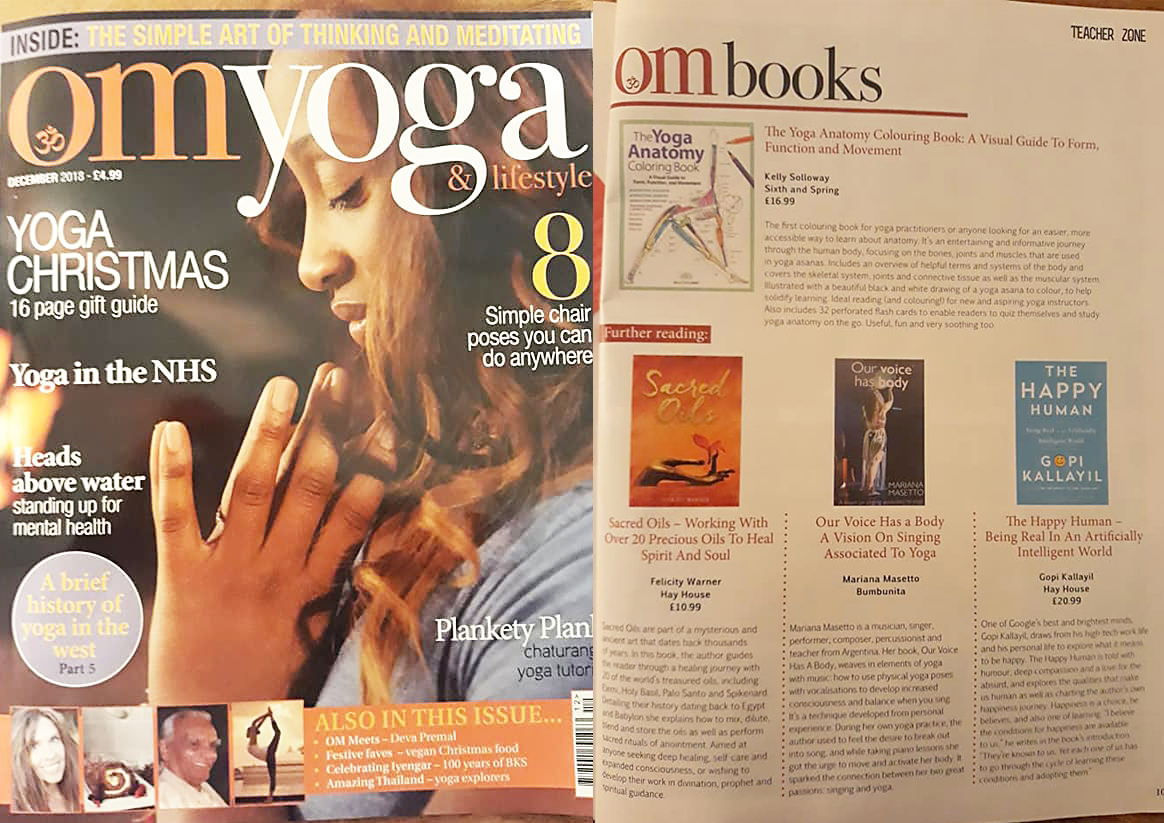 Revista OM Yoga, UK