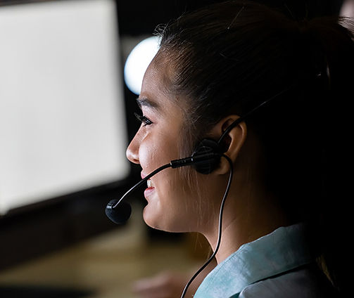 Customer support agent for 24/7 medical assistance