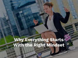 Being financially successful starts with the right mindset