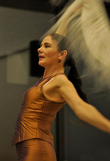 Joyce Richardson. Spanish Dancer in Ireland.