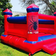 Spiderboy jumping castle