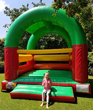 roof jumping castle