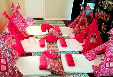 pyjama party for girls