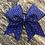 Thumbnail: Rhinestone fade cheer bow