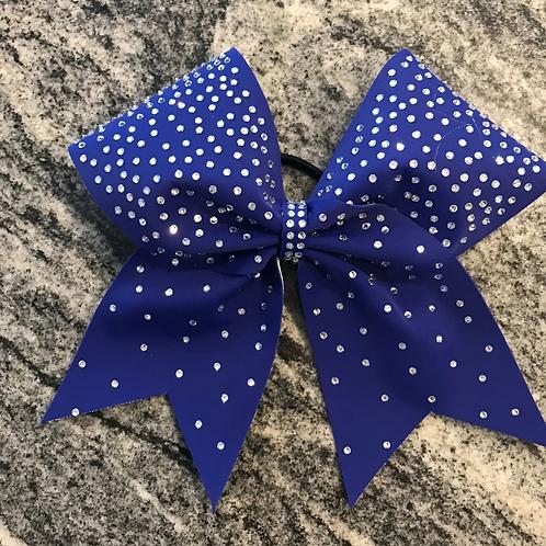 Rhinestone fade cheer bow