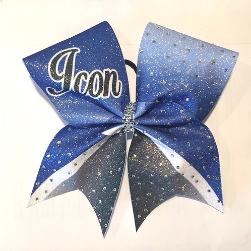 Icon Royal Glitter Bow with Rhinestones