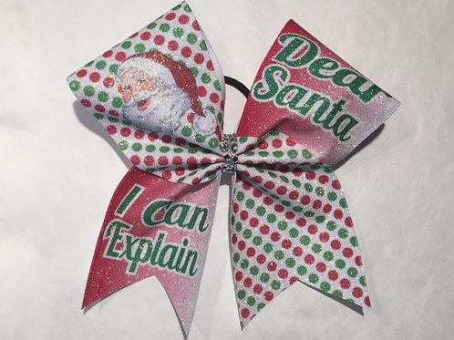 Sublimated Santa