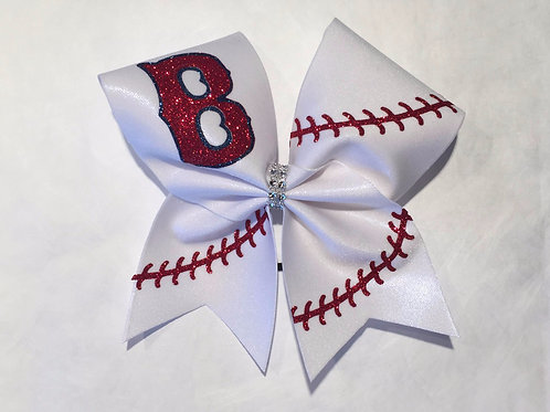Boston Red Sox Cheer Bow