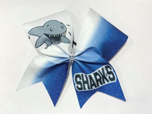 Sharks Team Bow