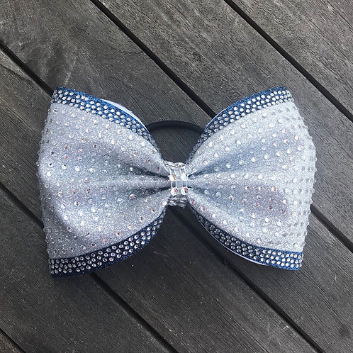 """4"""" Tailless Glitter Bow"""