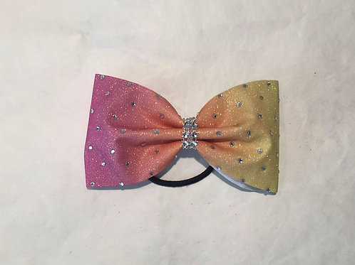 Tailless Ombre Mini Cheer Bow