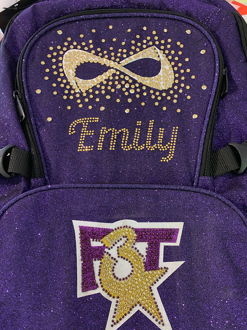 F3T Color Glitter Backpack