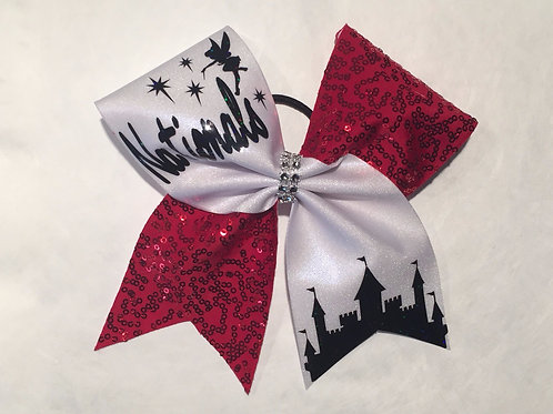 Tinkerbell Nationals Cheer bow