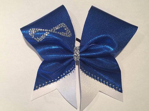 Royal Blue Nfinity Cheer Bow