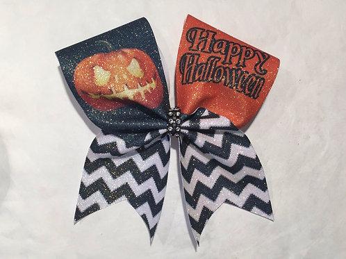 Halloween Cheer bow
