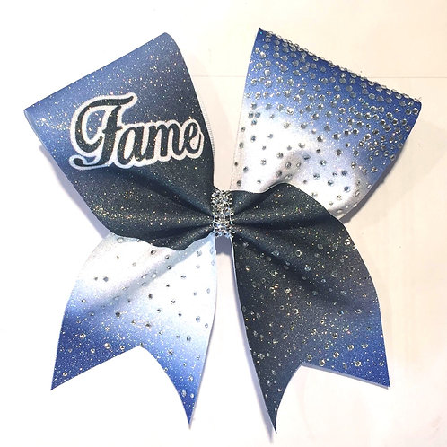 copy of Fame Royal  Glitter Bow with Rhinestones