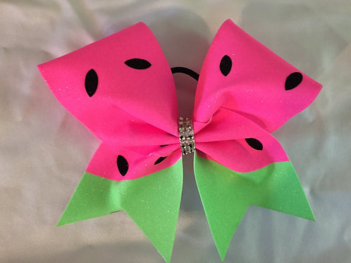Watermelon  Cheer Bow